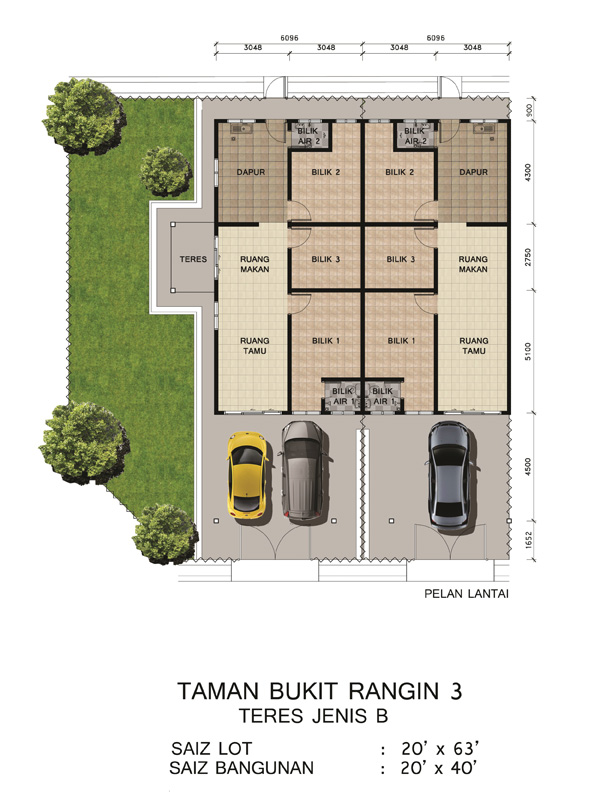 Taman Bukit Rangin 3 - Floor Plan