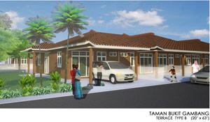 Taman Bukit Gambang - Terrace Type B