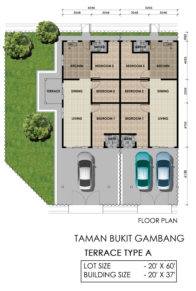 gambang-2-terrace-floor-plan