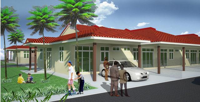 Taman Bukit Gambang 2 - Terrace Type A